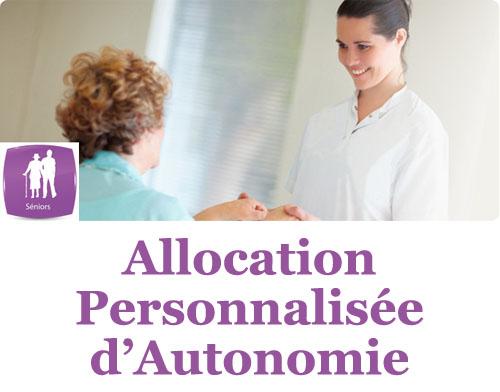 L'Allocation Personnalisée d'Autonomie ou APA