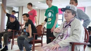 jeunes et seniors